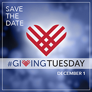 Giving Tuesday is Dec. 1